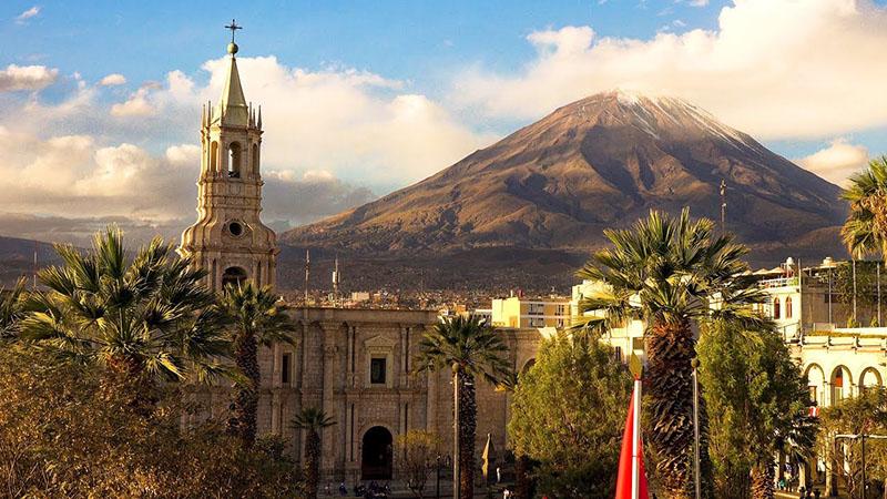 Monumentos históricos de Arequipa no Peru