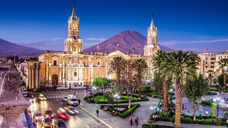 Arequipa no Peru
