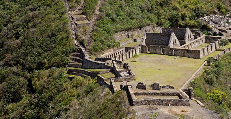 Choquequirao no Peru