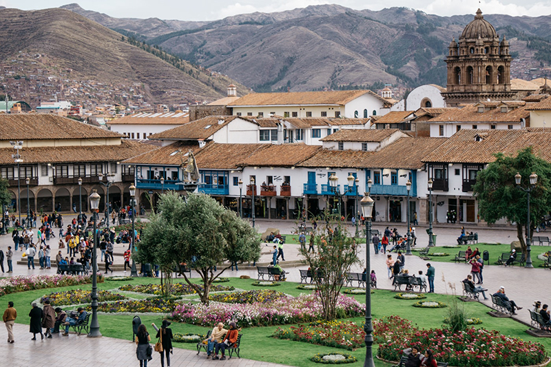 Fuso horário de Cusco x Brasil