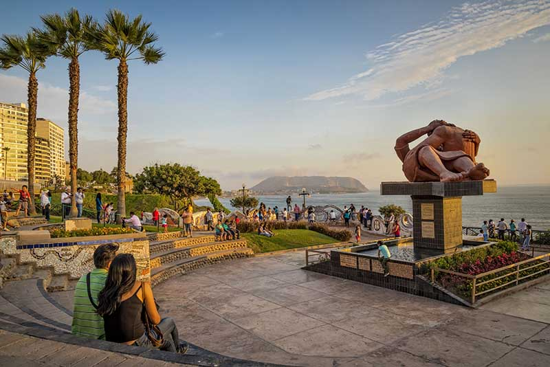 Parque del Amor em Lima