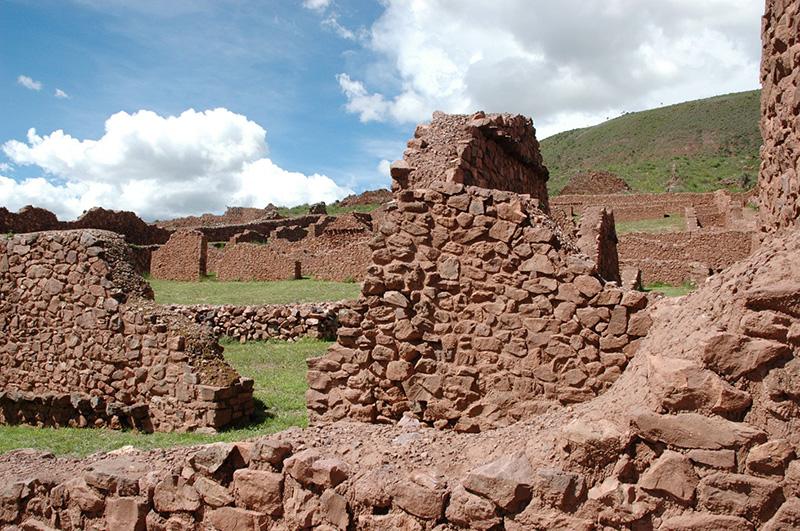 Sitio Arqueologico Piquillacta no Peru