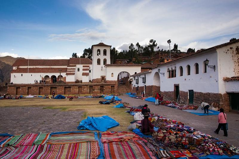 Vila de Chinchero em Cusco