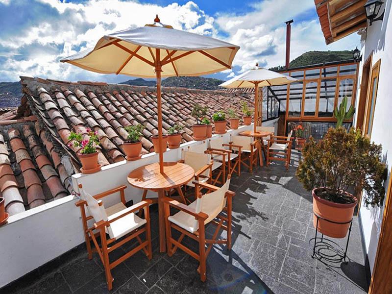 San Blas em Cusco em Peru