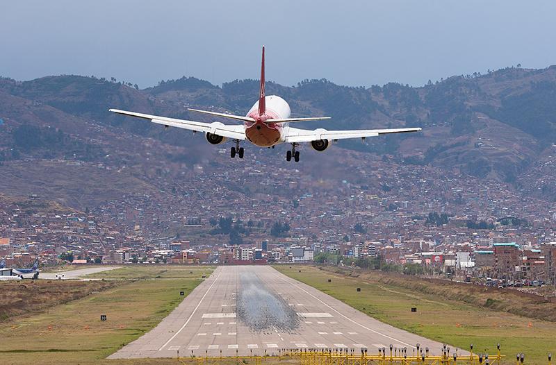 Tempo de avião até Cusco
