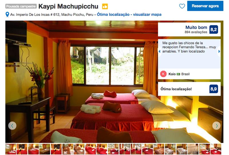 Hotel Kaypi em Machu Picchu