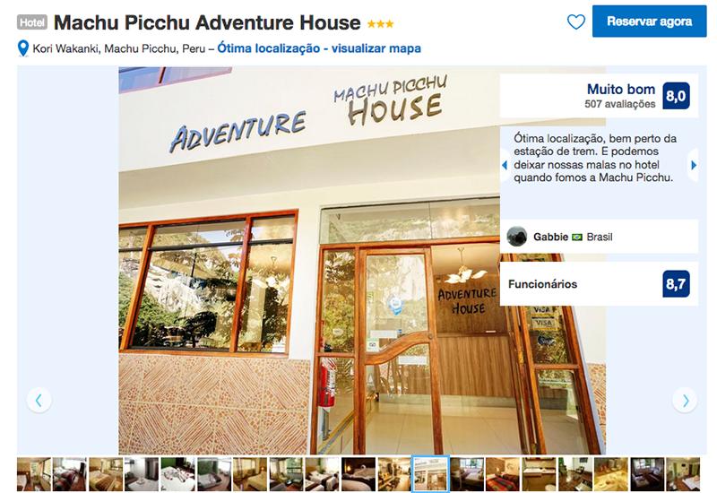 Hotel Machu Picchu Adventure House