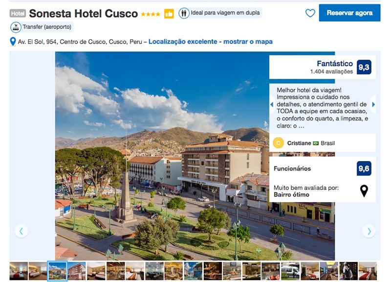 Sonesta Hotel em Cusco