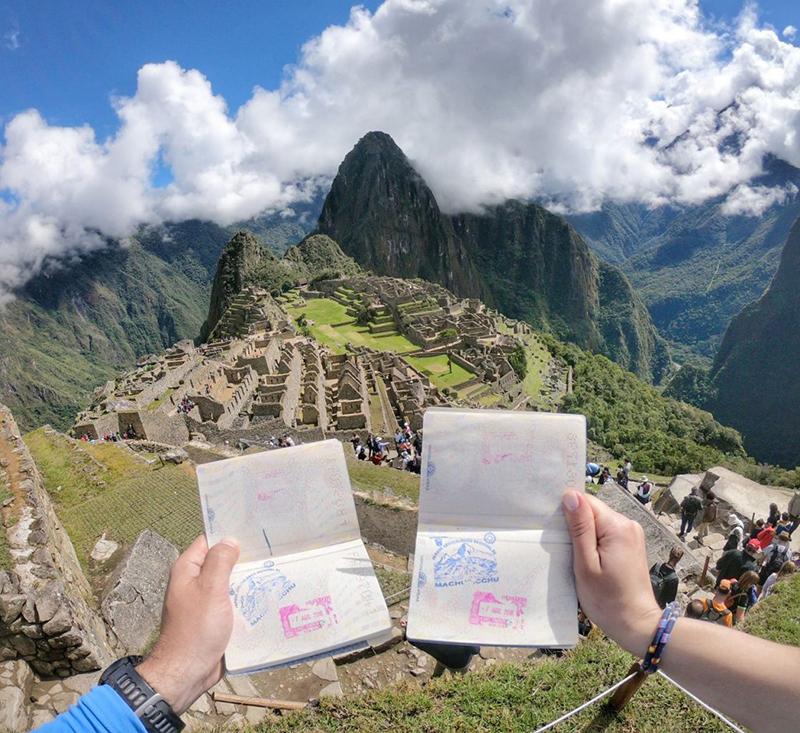 Lua de mel no Peru