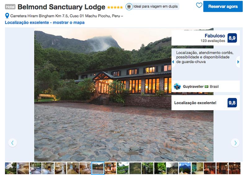 Hotel Belmond Sanctuary Lodge em Machu Picchu