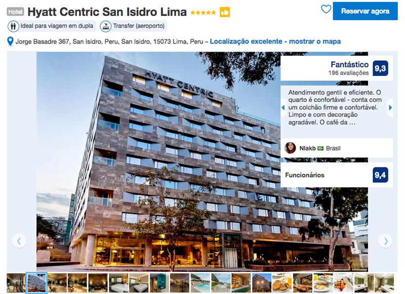 Hyatt Centric San Isidro em Lima