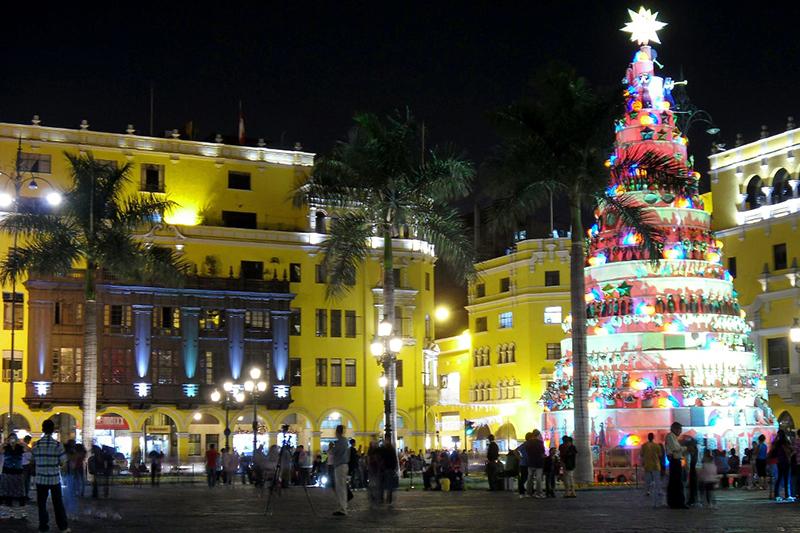 Natal no Peru