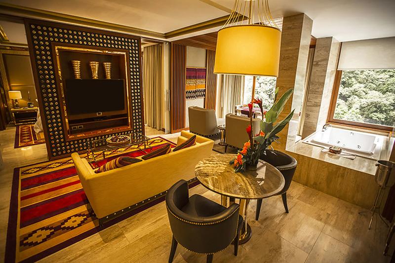 Melhores hotéis de luxo em Machu Picchu